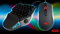 Pro Gaming Keyboard & Mouse Compatible w/ Playstation 5/ 4/3/ XBOX Series X|S/360/Switch - 1