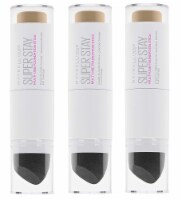 Super Stay Multi Use Foundation Stick, #220 Natural Beige Pack of 3 - 3