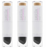 Super Stay Multi Use Foundation Stick, #312 Golden Pack of 3 - 3