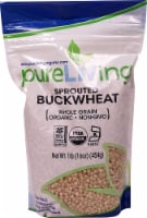 Pure Living Organic Sprouted Buckwheat