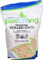 Pure Living Organic Sprouted Rolled Oats