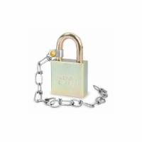 American Lock Keyed Padlock, 3/4 in,Rectangle,Silver HAWA A5200GLWN
