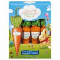 Lindt Solid Milk Chocolate with Hazelnut Carrots