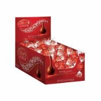 Lindt Lindor Milk Chocolate Truffle Changemaker Display (60-Count) 529782 - 0.42 Oz.