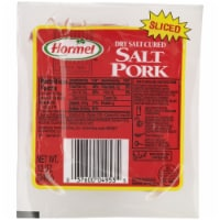 Hormel Sliced Salt Pork Dry Salt Cured