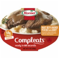 Hormel Compleats Roast Beef and Mashed Potatoes with Gravy
