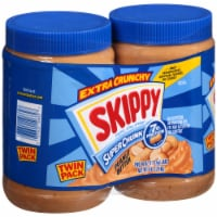 Skippy Super Chunk Extra Chunky Peanut Butter Twin Pack