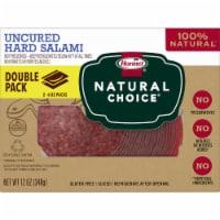 Hormel® Natural Choice Uncured Hard Salami - 2 ct / 6 oz