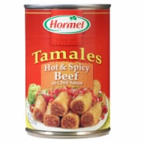 Hormel Hot N' Spicy Beef In Chili Sauce Tamales