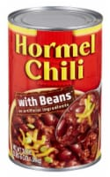 Hormel Chili With Beans - 38 oz