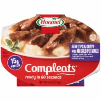 Hormel Compleats Beef Tips with Mashed Potatoes and Gravy - 9 oz