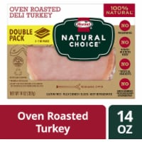 Hormel Natural Choice Oven Roasted Sliced Deli Turkey