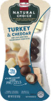 Hormel Natural Choice Smoked Turkey With Mild White Chedder & Chocolate Pretzels
