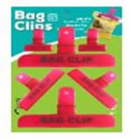Bag Clips - Orange