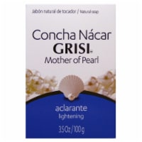 Grisi Natural Mother of Pearl With Concha Nacar Soap
