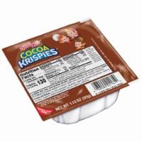 Cereal Cocoa Krispie Simple Serve 96 Case 1 Ounce - 96-1.1 OUNCE