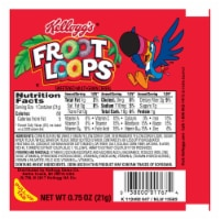 Kelloggs Froot Loops Simple Serve Cereal, 0.75 Ounce -- 96 per case