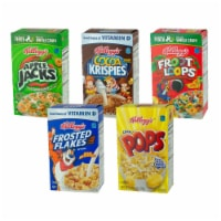 Fun Pak Cereal 12/8 Pack 8 Case .6 Ounce - 12-8.56 OUNCE