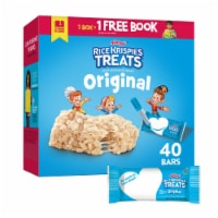 Kellogg's Rice Krispies Treats Marshmallow Squares Bars Original