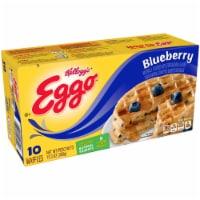Kelloggs Eggo Blueberry Waffle, 12.3 Ounce -- 8 per case.