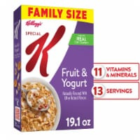 Kellogg's Special K Breakfast Cereal Fruit and Yogurt Family Size