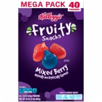 Kellogg's Mixed Berry Flavored Fruity Snacks 40 Count