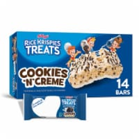 Kellogg's Rice Krispies Treats Marshmallow Squares Bars Cookies 'N' Creme