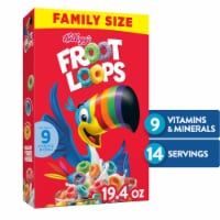 Fruit Loops Cereal Family Size