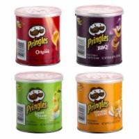 Pringles 4 Flavors Crisps, 1.37 Ounce -- 60 per case.