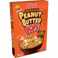 Kellogg's Corn Pops Breakfast Cereal Chocolate Peanut Butter