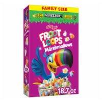 Kellogg's Froot Loops with Marshmallows Cereal