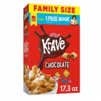 Krave Chocolate Cereal - 17.3 oz