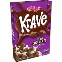 Kellogg's Krave Breakfast Cereal Double Chocolate