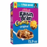 Kellogg's Raisin Bran Crunch Breakfast Cereal Original