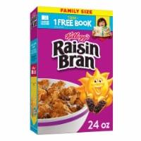 Kellogg's Raisin Bran High Fiber Original Breakfast Cereal - 24 oz