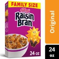 Kellogg's Raisin Bran Breakfast Cereal Original Family Size