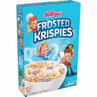 Kellogg's Frosted Krispies Breakfast Cereal