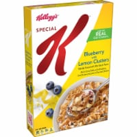 Special K Blueberry with Lemon Clusters Cereal