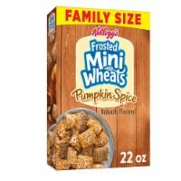 Kellogg's Pumpkin Spice Mini-Wheats Cereal - 22 oz