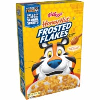 Kellogg's Frosted Flakes Breakfast Cereal Honey Nut