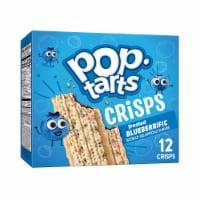 Pop-Tarts Crisps Frosted Blueberrific Bar Pouches 12 Count