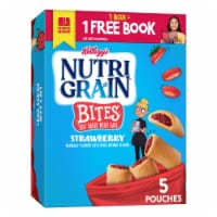 Nutri-Grain Kids Strawberry Blast Soft Baked Mini Breakfast Bars 5 Count
