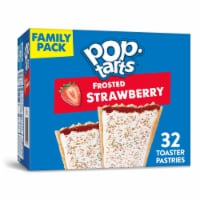 Pop-Tarts Frosted Strawberry Toaster Pastries 32 Count