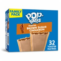 Pop-Tarts Frosted Brown Sugar Cinnamon Toaster Pastries 32 Count