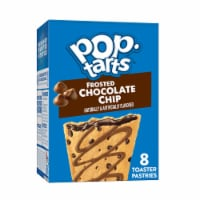Pop-Tarts Frosted Chocolate Chip Toaster Pastries 8 Count