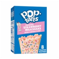 Pop-Tarts Frosted Strawberry Milkshake Toaster Pastries 8 Count