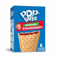 Pop-Tarts Unfrosted Strawberry Toaster Pastries 8 Count