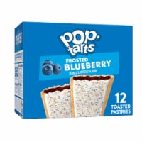 Pop-Tarts Frosted Blueberry Toaster Pastries 12 Count