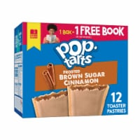 Pop-Tarts Frosted Brown Sugar Cinnamon Toaster Pastries 12 Count