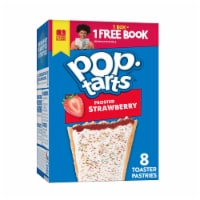 Pop-Tarts Frosted Strawberry Toaster Pastries 8 Count